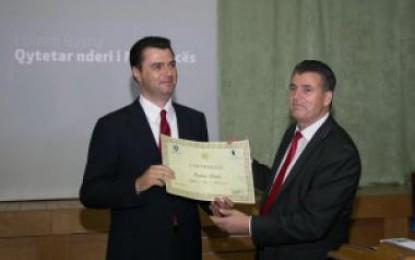 Basha shpallet qytetar nderi i Mitrovicës: Përgjegjësi për çfarë do të bëj në të ardhmen