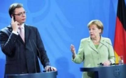 Merkel, në Beograd: Kosova, të anëtarësohet në OKB!