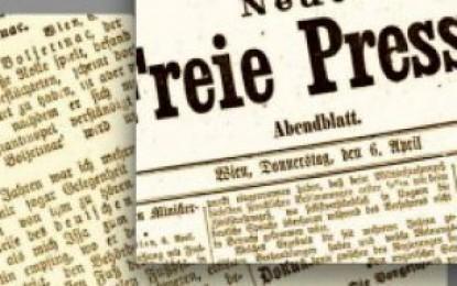 Ilir Ikonomi sjell një portret te gazetës austriake per Isa Buletinin, 104 vjet më parë