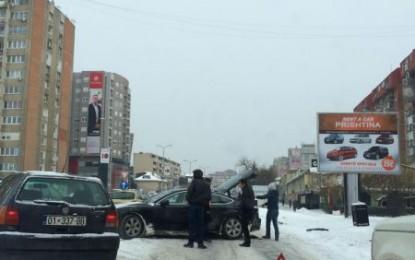 Vazhdojnë aksidentet në Prishtinë