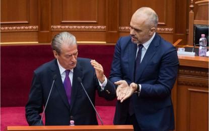 Rama dhe Berisha, sherr për ministrin e Drejtësisë, Ylli Manjani