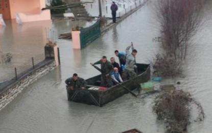Ja situata e përmbytjeve sipas ministrisë së Brendshme
