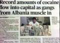 """""""Shqiptarët kontrollojnë drogën në Londër"""""""