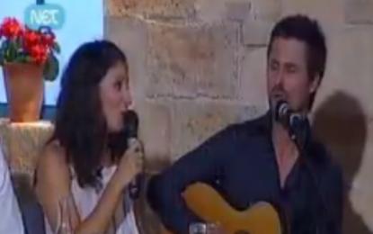 Serenata korçare në televizionin grek