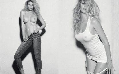 Modelja Lara Stone tregon bustin (FOTO)