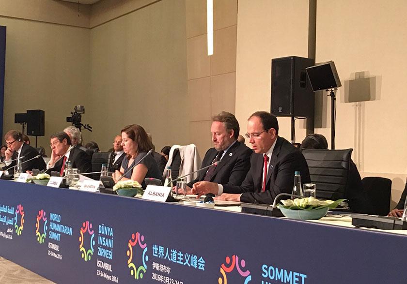 Kreu i Shtetit shqiptar merr pjesë në Samitin Humanitar Botëror të OKB-së