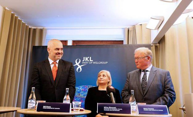 Ish-Kryeministri i mirënjohur i Suedise Göran Persson,drejton KIZH-in e Ramës
