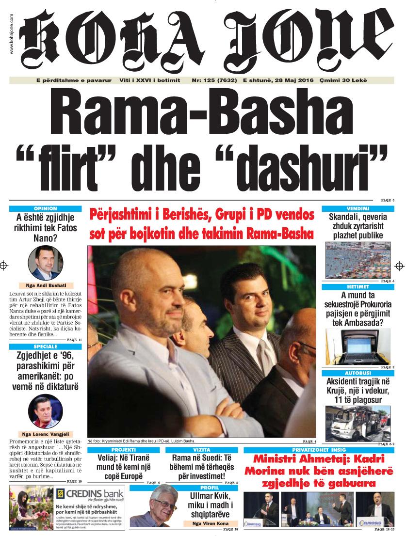 Gazeta kohajone sot 7  maj 2016