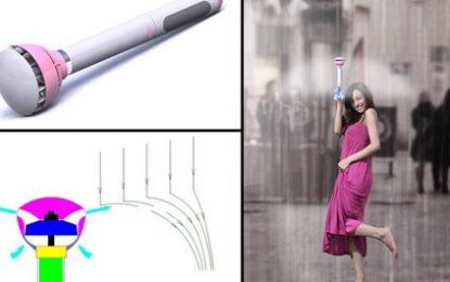 Ikën çadra tradicionale, vjen  Air Umbrella