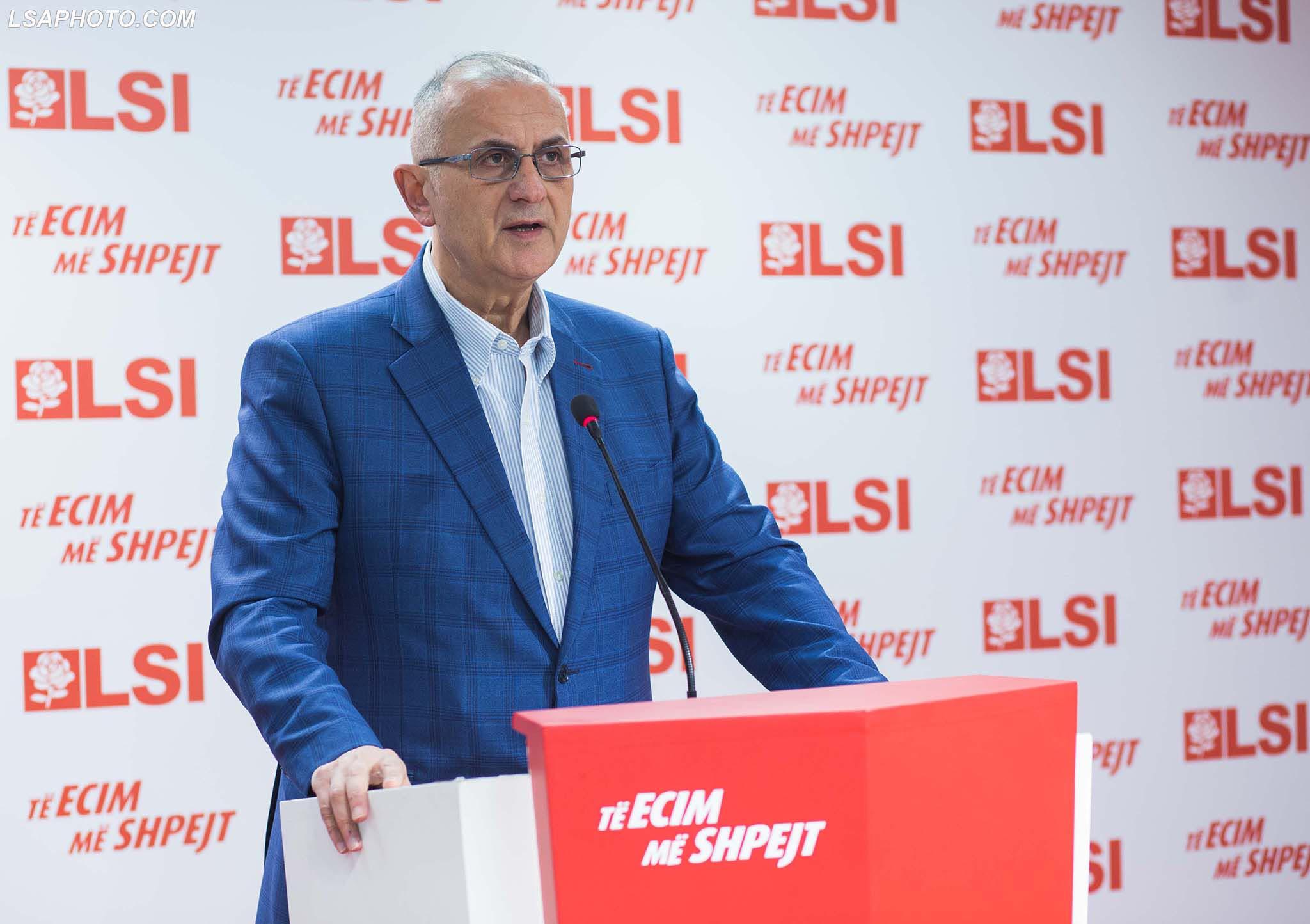 Petrit Vasili: Garë e fortë LSI-PS-PD. Do dalim forcë e parë