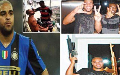 """Adriano, nga """"Perandori"""" i futbollit, në bandat kriminale të Brazilit"""