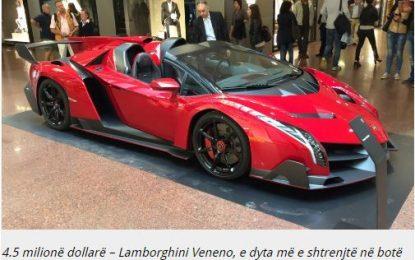 Këto janë makinat më të shtrenjta në botë (FOTO)