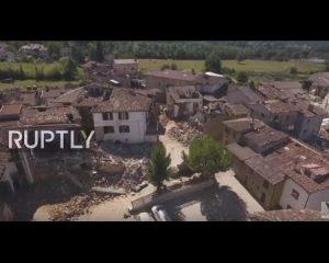 Pesë ditë nga tërmeti, ja si duket Amatrice sot me pamje droni (VIDEO)