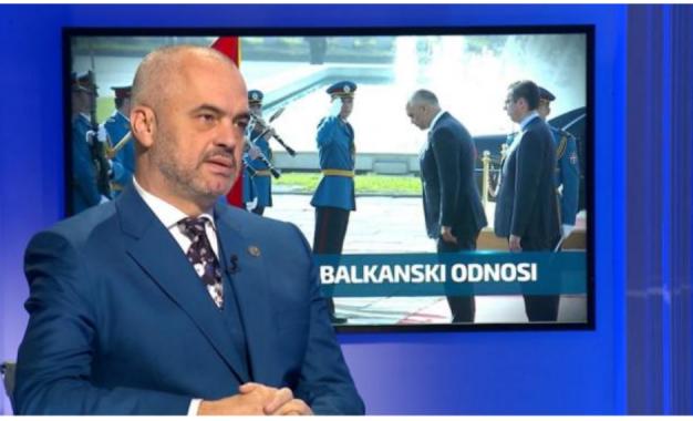"""Rama në Beograd:politikë, marrëveshje, ekspozitë pikture dhe """"Kurban"""""""