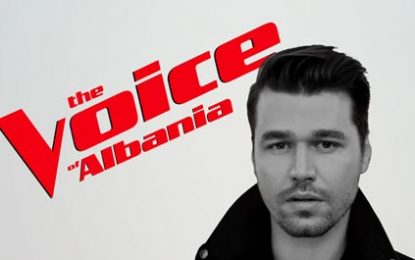 "Alban Skënderaj, trajneri i ri i ""The Voice of Albania"""