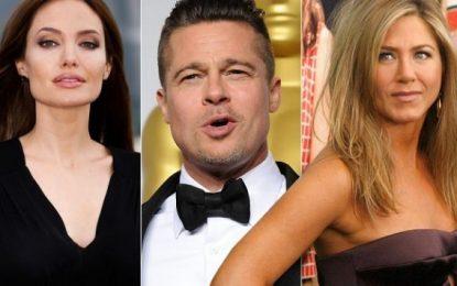 Pas ndarjes nga Jolie, Brad Pitt takohet në fshehtësi me Aniston