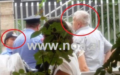 Policia surprizon me gjobë aktorin Robert Ndrenika për Kurban Bajram