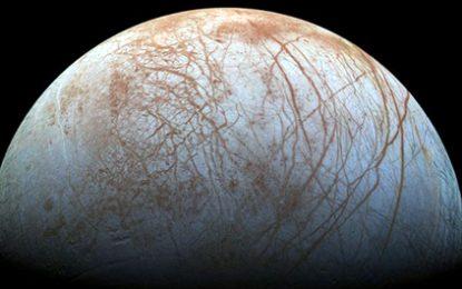 """""""Mega-Oqean në satelitin e Jupiterit"""""""