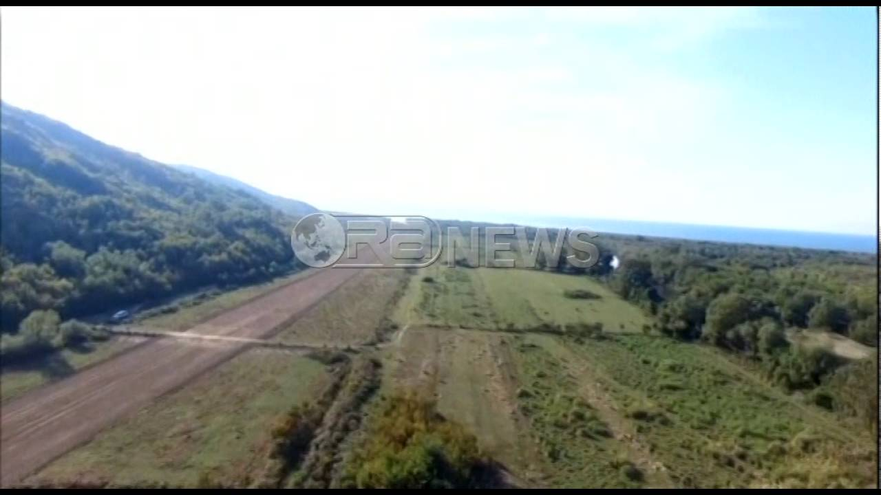 Pamjet me dron, ja zona ku u rrëzua avioni (VIDEO)
