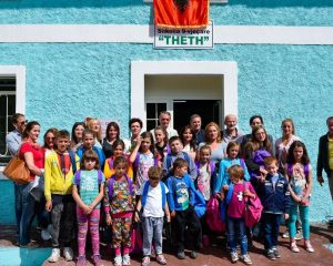 Vodafone Albania, pranë nxënësve të Thethit në këtë sezon të ri shkollor