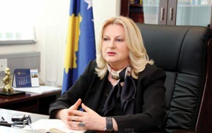 Edita Tahiri: Tensionet në veri shtyjnë zbatimin e marrëveshjeve