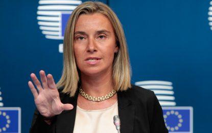 Federica Mogherini raporton sot për vizitën e saj në Ballkan