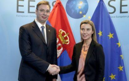 Martesa me interes e Serbisë me BE-në