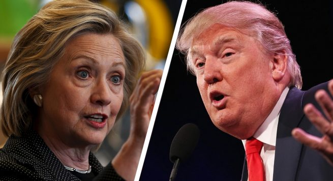 "Ngushtohen sondazhet, ""nxehet"" gara Clinton-Trump"