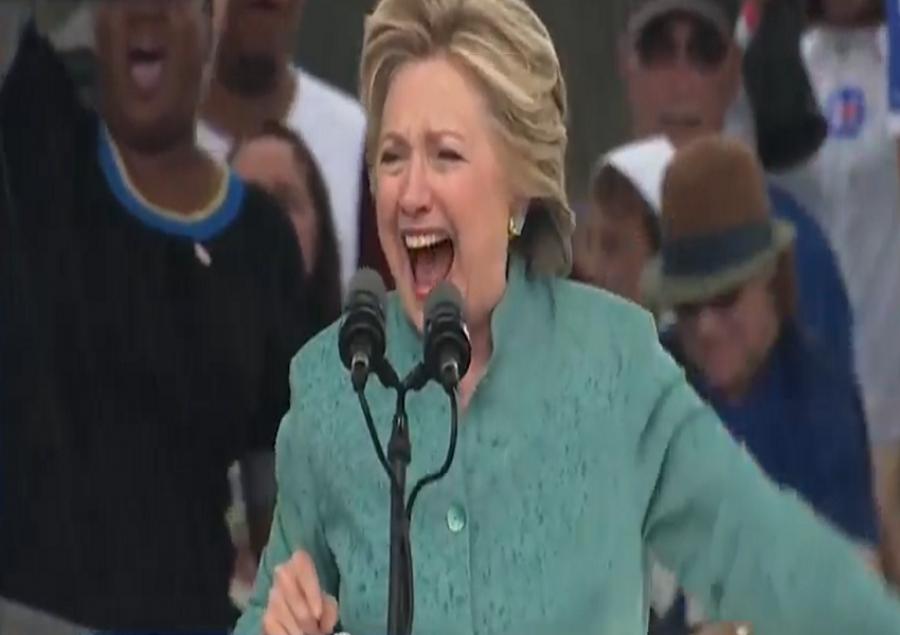 Stuhia ndërpret tubimin elektoral të Hillary Clinton