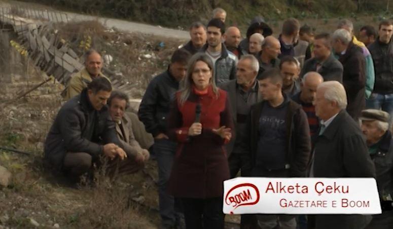 BOOM: Tre fshatra të izoluara në Elbasan, shkak ura dhe rruga