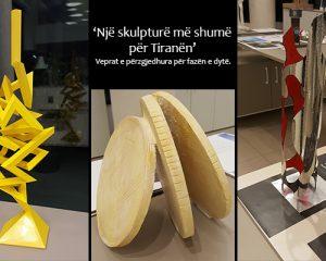Një bankë për artin – një skulpturë më shumë për Tiranën