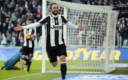 Çifti Dybala-Higuain mposht Lazion
