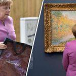 Betimi i Trump si President  Merkel mungoi pasi ishte e zënë në