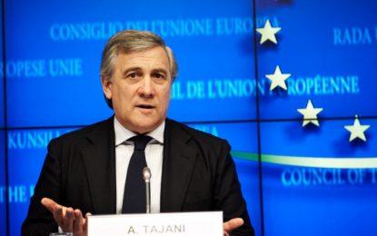 Antonio Tajani, një ish-gazetar president i Parlamentit Europian