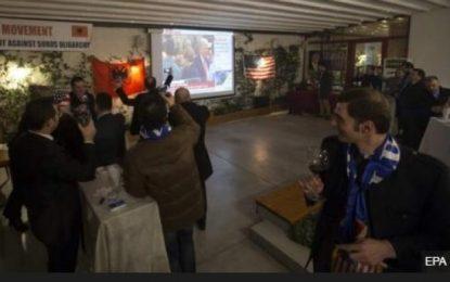 BBC: Mbështetësit në Shqipëri festojnë betimin e Trump