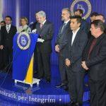 Tre nënkryetarët e BDI-së braktisin mbledhjen, jo koalicionit me Gruevskin