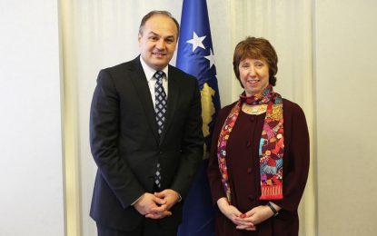 Hoxhaj takon Ashton: Kosova e palëkundur në orientimin e saj perëndimor