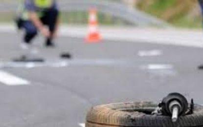 Rrëzohet trajleri serb në Fushë Krujë, plagosen dy shoferët