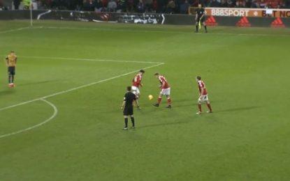 Supergol nga kampionati anglez, i pari në llojin e tij (VIDEO)