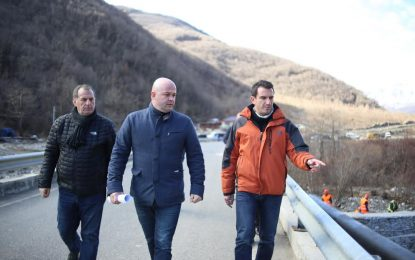 Erion Veliaj: Ndërtohet armatura mbrojtëse e tubacionit e ujit e Shën Mërisë