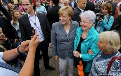 Merkel, fushatë zgjedhore në kohë të pasigurisë së brendshme