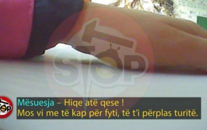Skandali në Tiranë/Mësuesja rreh dhe terrorizon nxënësit