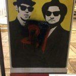 FOTOT   Organizata Politike vandalizon gjithë pikturat për fëmijë në Tiranë