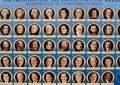Thëniet e famshme të 45 presidentëve të SHBA
