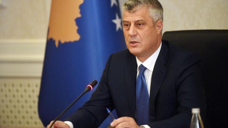 Dekriminalizimi edhe në Kosovë: Thaçi: Personat nën hetim jashtë institucioneve