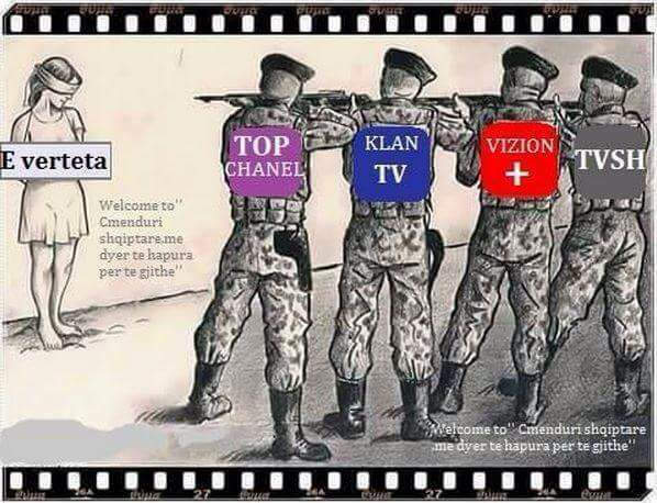 Si u bënë TV-të e mëdha fabrika gënjeshtrash?