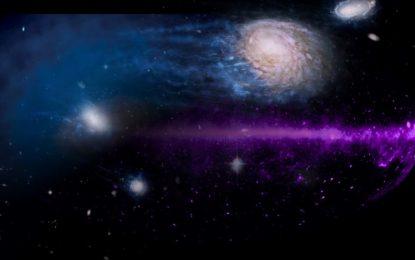 VIDEO/Galaktikat po 'vriten' nga diçka e errët