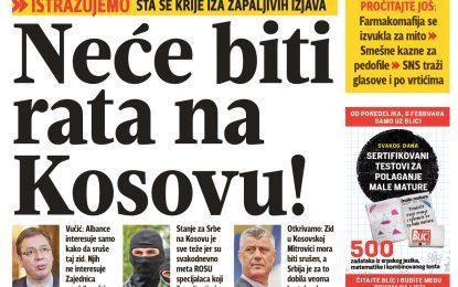 """Mediet serbe raportojnë: """"Nuk do të ketë luftë në Kosovë!"""""""