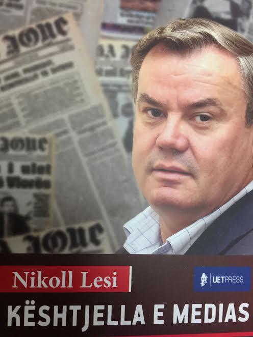 "Libri ""Keshtjella e medias"" i gazetarit Nikoll Lesi"