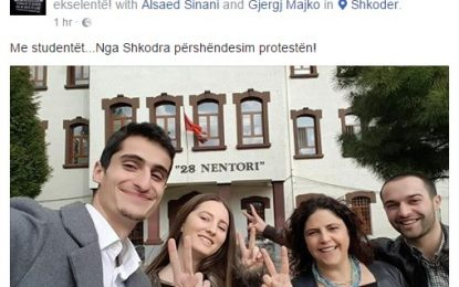 Portali SPJV.IT: Djali i ish-kryeministrit, studenti Gjergji Majko,pro protestës PD